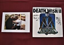 """JIMMY PAGE (Signed) """"DEATH WISH II"""" LP (1 of 1) Donated to Charity(Led Zeppelin)"""