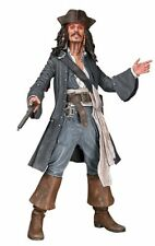 "Pirates Of The Caribbean - Excellent talking CAPT. JACK 18"" figure by NECA: NEW"