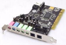 Terratec Aureon 5.1 TTP8 Ver 1.2 Soundkarte Card PCI 32bit SPDIF 3,5mm Klinke
