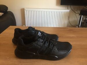 Ments black trainers size 7