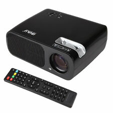 iRULU HD 1080P LED LCD Projector Home Cinema Theater RC Control