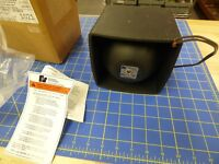 FEDERAL SIGNAL COMPACT  BP100 WATT P/A SPEAKER  NEW IN BOX