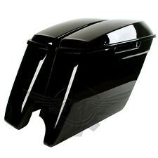 2-into-1 Extended Stretched Saddlebags for Harley Davidson 2014-2018 Bags