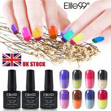 Elite99 Thermal Change Colour Manicure Gel Nail Polish 10ML Top Base Coat UV LED