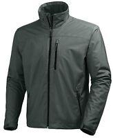 Helly Hansen Crew Midlayer Fleece Lined Waterproof Jacket 30253/899 Rock NEW