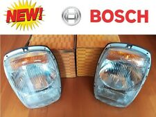 NEW NOS New Old Stock 2x Original Bosch Euro Head Lights for Mercedes W114  W115