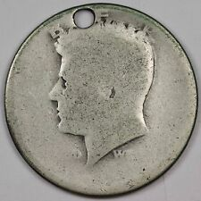 1964-p Kennedy Half.  Poor 1.  Probably lowest grade from normal wear.  115054