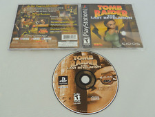 Tomb Raider The Last Revelation Sony Playstation PS1 Video Game Complete