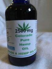 Colorado Hemp Oil Extract for Pain Relief and Anti-Anxiety Support