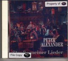 (CW992) Peter Alexander, Strasse Meiner Lieder - 1990 CD