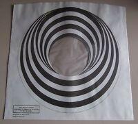 """FOUR X VERTIGO SWIRL / SPIRAL 12"""" LP POLY-LINED INNER SLEEVES (NEW) FREE UK POST"""