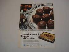 advertising Pubblicità 1979 CHIOCCIOLE ALEMAGNA