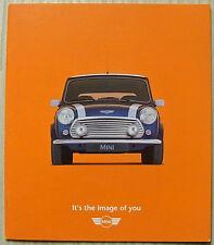 MINI CAR RANGE Sales Brochure 1996 #EO1474 GERMAN TEXT 1.3i & Cooper
