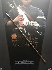 Hot Toys Star Wars Rogue One Chirrut Imwe Long Staff Weapon loose 1/6th scale
