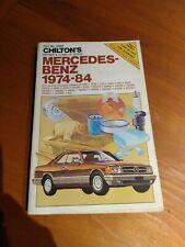 1974-84 Mercedes Benz repair manual Chilton's