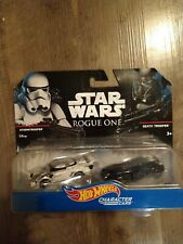 Brand New! Collector Star Wars Rogue One, 2 Hot Wheels Character Cars!
