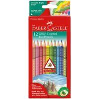 Faber-Castell GRIP Color EcoPencils Set of 12 - Assorted Colors