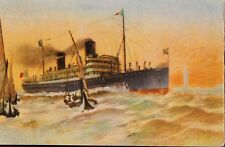 29545 PC ship ITALIY SS VIENNA SS HELOUAN PC ship steamer AK Schiff Dampfer