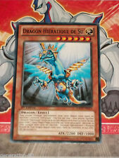 Carte YU GI OH DRAGON HIERATIQUE DE SU GAOV-FR023 x 3
