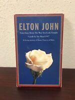 Elton John Candle In The Wind Cassette Tape Free Shipping!