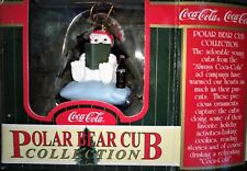 décoration noël COCA COLA ornaments cavanagh POLAR BEAR CUB