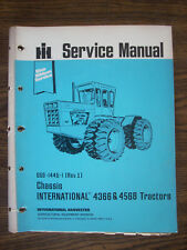 IH Farmall International 4366 4568 Service Manual