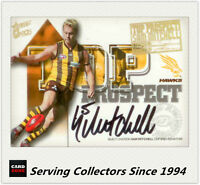 2004 Select AFL Ovation Top Prospect Signature Card TP7 Sam Mitchell (Hawthorn)