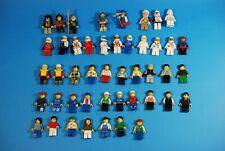 40+ LEGO MINIFIGURES LOT space racer Star Wars city mini figures minifigs