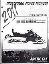 2011 ARCTIC CAT SNOWMOBILE BEARCAT Z1 XT PARTS MANUAL P/N 2258-791  (739)