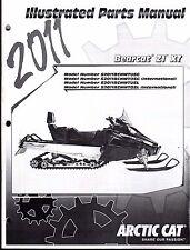 2011 ARCTIC CAT SNOWMOBILE BEARCAT Z1 XT PARTS MANUAL P/N 2258-791  (739)