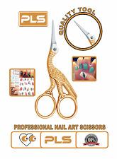 Ciseaux à Ongle Nail Art Stork Scissor Stainless Steel Nail Golden Scissor 10 cm