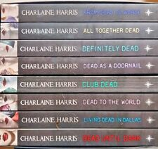 Sookie Stackhouse Novels,  Boxed Set,   By Charlaine Harris,  VG~P/B   FREE POST