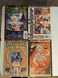 BLOODSTONE #1,#2,#3,#4 complete set Marvel 1st prints Abnett-Lanning 2001 🔥