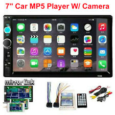 """7"""" Double 2Din Car Mp5/Mp4 Player Bluetooth Touch Screen Stereo Radio Usb Aux (Fits: Dodge Shadow)"""