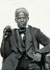 1850 Photo of Uncle Marian, a Slave of Great Notoriety, of North Carolina