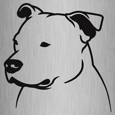 Staffy Head Sticker Staffordshire Bull Terrier Vinyl Car Decal 140mm x 140mm #3