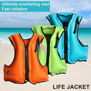 schwimmweste rettungsweste schwimmhilfe aufblasbar erwachsene lifejacket