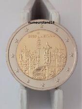 DISPO 2 euro LITUANIE 2020 Commémo. Colline des Croix. NEUVE. Envoi en suivi.