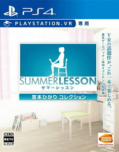 Summer lesson: Hikari Miyamoto Collection PSVR ONLY From Japan Tracking USED