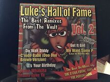 LUKE'S HALL OF FAME VOL 2 2 LP LIL' JOE 1997 XR229 2 LIVE CREW DJ PROMO COPY