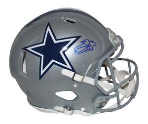 Emmitt Smith Autographed Dallas Cowboys Authentic Speed Helmet BAS 33629