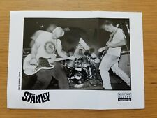 STANLEY 5x7 BLACK & WHITE Press Promo Photo 1990's INDIE PUNK ROCK