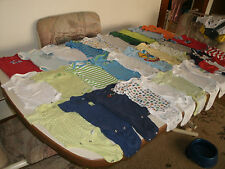 Boys 51 piece onesie mixed clothing lot size 0-3 months