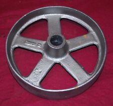 9 Inch Hit & Miss Witte Gas Engine Flywheel Engine Cart Wheel Cast Iron