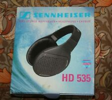 True Vintage Sennheiser HD 535 Hedphones with Original Box Booklet