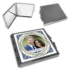 Royal Wedding of HRH Prince Harry & Meghan Commemorative Square Compact Mirror