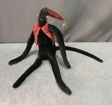 Antique Sock Monkey (circus rag doll handmade primitive folk art unique)