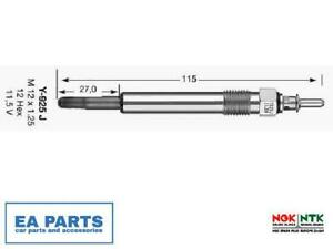 Glow Plug for MERCEDES-BENZ PUCH NGK 6848