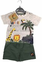 Lily & Jack 'Safari' Baby Boys Toddler T-Shirt and Shorts Set 12 18 24 Months