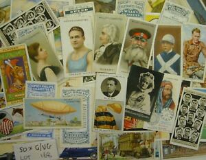 Mixed Cigarette Cards Good / Very Good condition  No Hints Cards + FREE POSTAGE